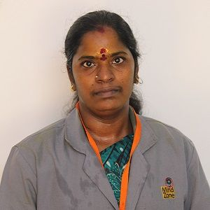 Mrs. Mayawathi, Housekeeping at Mind Zone